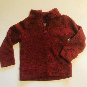 ⭐️5 for $25⭐️  Red Zip Neck Sweater